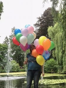 Blogstart-Luftballonaktion