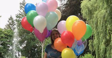 Blogstart-Luftballonaktion