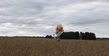 Blogstart-Luftballonaktio