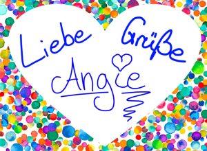 Liebe Grüße Angie