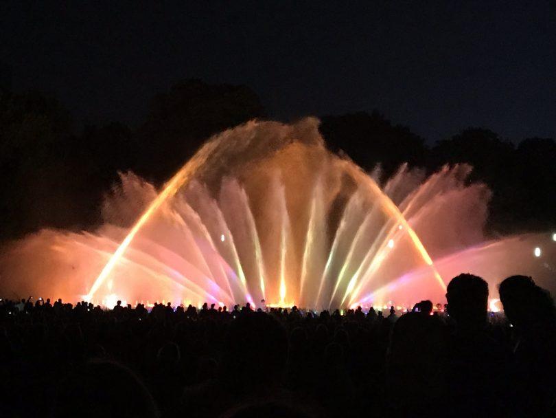 Wasserlichtkonzert in Hamburg